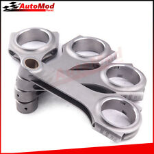 For JDM Honda Civic CRX D16 D Series Forged Connecting Rods Conrod 4pcs New Sale