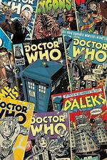 Doctor Who : Comic Montage - Maxi Poster 61cm x 91.5cm (new & sealed)