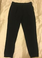 Ladies Women's Tu Size 8-10 Black Lounge Trousers Pyjama Bottoms