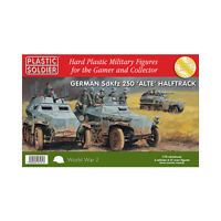 German SdKfz 250 alte halftrack - Plastic Soldier WW2V20022 - P3
