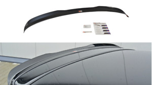MAXTON SPOILER CAP FOR AUDI S3 8P (FACELIFT MODEL) 2009-2013 (GLOSS BLACK)