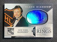 2019-20 UD BLACK DIAMOND BRAD PARK 1988 HALL OF FAME RINGS #HR-BP