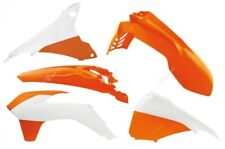 RTECH KIT PLASTICHE KTM EXC F 125-200-250-300-350-450-500 14-16 ARANCIO BIANCO