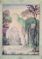 Kay Nielsen Color Illustrated First Edition Hans Andersen Fairy Tales 1924