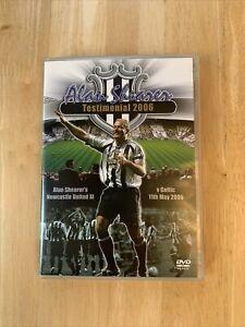 Alan Shearer Testimonial Newcastle Vs Celtic 11th May 2006 DVD