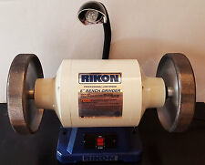 Rikon Grinder 1hp with 2 Radius Edge CBN wheels / 180 + 600 grits