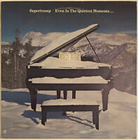 SUPERTRAMP EVEN IN THE QUIETEST MOMENTS LP A&M RARE ITALIAN PRESSING 1977