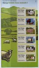 GB 2012 POST & GO SHEEP PRESENTATION PACK SUFFOLK 1st