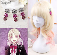 Anime Diabolik Lovers Hairpin Komori Yui Cosplay Hair Clip