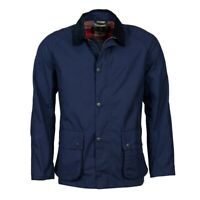Barbour mens Awe casual navy jacket (L) - NEW - RRP £169