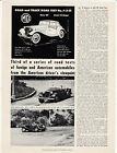 1951 MG TD MIDGET Road & Track Reprint Article Dealer Handout 2p Brochure