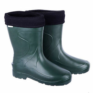 Ladies Thermal -30C Lightweight EVA Wellies Wellingtons Verona Rain Boots Womens