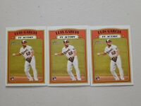 Luis Garcia (3) Lot 2021 Topps Heritage In Action RC #110 Nationals Rookie