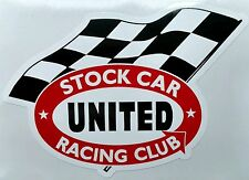 United Stock Car Racing Club Decal #4 Free Fast Shipping