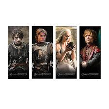 Game of Thrones New * Magnetic Bookmark Set * Daenerys Tyrion Jaime Arya GOT HBO