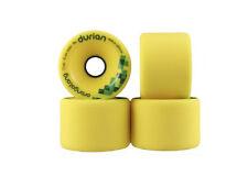Orangatang Durian Yellow Wheels 75mm 86a Set of 4 Wheels