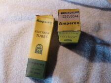 ez81 6ca4 Amperex britain  tubes    vintage hi fi amplifier audio audiophile nib