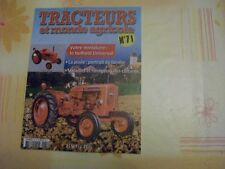 MAGAZINE TRACTEURS N°71 LE NUFFIELD UNIVERSAL