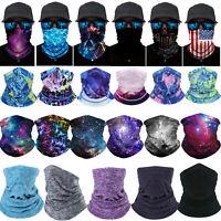 Face Neck Gaiter Head Scarf Handkerchiefs Headwear Women's Novelty Bandanas