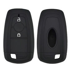 2 Button Silicone Car Key Cover Case For Ford EcoSport 2018 Remote Fob Protector