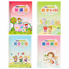Writing Practice Book Clear English Number Groove Copybook for Beginner Students