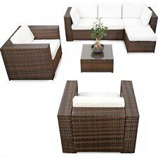 Polyrattan Gartenmöbel Lounge Möbel Sitzgruppe Lounge Hocker Tisch Sessel Sofa