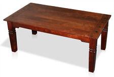 KMH® Couchtisch 110 x 60 cm Wohnzimmertisch Beistelltisch Tisch Sheesham braun