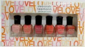"(Pack of 6)  Deborah Lippmann Gel Lab Pro Color ""Make Me Blush"" Nail Polish Set"