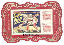 Circus Stamp sheet from press sheet $2.00 Already sold out at USPS MINT