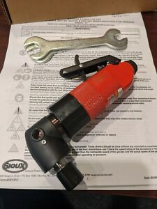 """Sioux Right Angle Die Grinder SAG7S18 1/4"""" Collet, 0.7 HP, 18,000 RPM"""