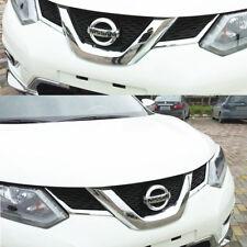 2pcs Chrome Front Grill Decoration Cover Trin Per Nissan X-Trail T32 2013-17