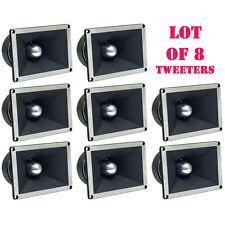 """Lot of (8) Pyle PDBT78 2"""" Titanium Super Tweeters, 350 Watts RMS/700 Watts Peak"""
