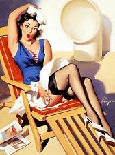 Vintage Retro 1950's Sexy Pin Up Girl Poster Print  SPU01 A4 A3 BUY 2 GET 1 FREE