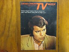 1972 Chicago Tribune TV Week (ROBERT  WAGNER/MARY  TYLER MOORE/TO CATCH A THIEF)