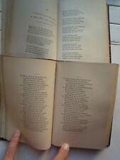 POESIES GASCONNES DE F.T. F TAILHADE 2 TOMES RELIES CHEZ TROSS PARIS 1867 1869