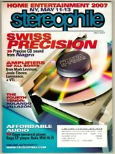 Stereophile Magazine 2007 May Stereo Audio Sound Equipment Narga Joule Electra