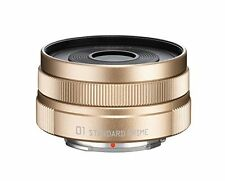 Pentax-01 Standard Prime for Pentax Q Mount #Color:Champagne Gold 23287