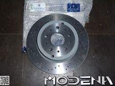 Genuine Set Brake Discs Rear Brake Disc Maserati QP V SPORT PACKAGE Perforated