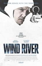 "Wind River movie poster  - 11"" x 17"" inches - Jeremy Renner"