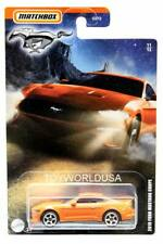2020 Matchbox Ford Mustang Series #11 2019 Ford Mustang Coupe Orange Wave 2