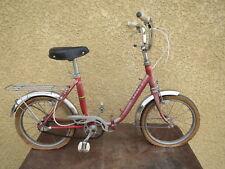 Former Folding Bike Vintage Child 1960 Brand France Vieux Cycle Rim Rigida