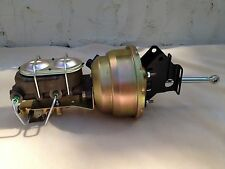 "1957-72 F100 8"" dual power brake booster master cylinder disc drum valve"
