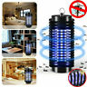 2Pcs Electric LED Mosquito Fly Bug Insect Zapper Killer Pest Trap Lamp Lights US