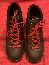 New listing Alpine Route Hiking boots Vintage Size 7.5 Uk Brown Leather Classic Trekking
