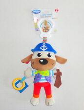 New Playgro Pirate Puppy Plush Baby Crib Stroller Activity Toy Salty Sea Dog P40