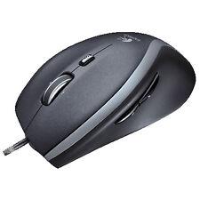 LOGITECH M500, Maus, kabelgebunden, Schwarz