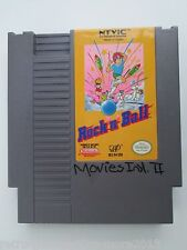 Rock 'n Ball (Nintendo NES, 1990) Game Only--Tested (NTSC/US/CA)