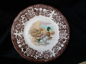 Palissy GAME SERIES Side plate. Diameter 7 inches.