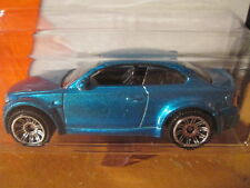 MATCHBOX METALLIC BLUE BMW 1M CAR - SCALE 1/64 LONG CARD