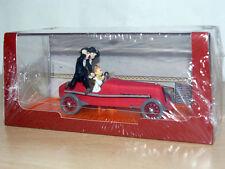TINTIN Herge Coche BOLIDO Los Cigarros del Faraon miniature car 1/43 scale